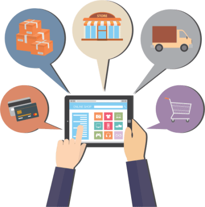 ecommerce review page graphic