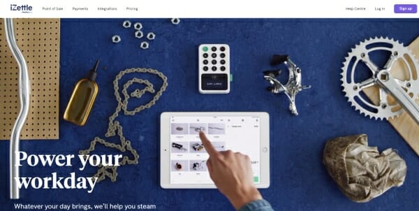 iZettle review page
